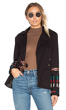 x REVOLVE Claude Jacket in Onyx