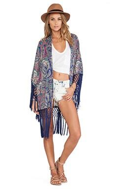 Tularosa Lou Kimono in Pastel Scarf