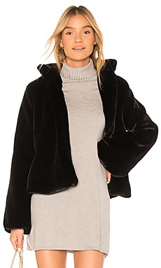 Inori Faux Fur Jacket Tularosa $298