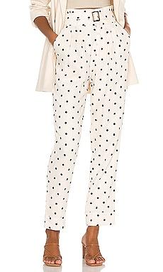 Zuri Embroidered Pant Tularosa $78