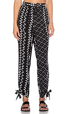 Tularosa Tennessee Pant in Black & White