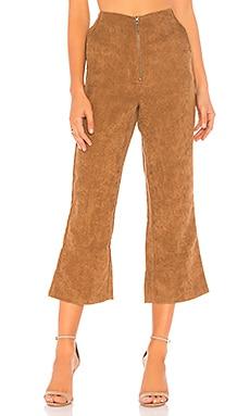 Купить Брюки rachel - Tularosa коричневого цвета