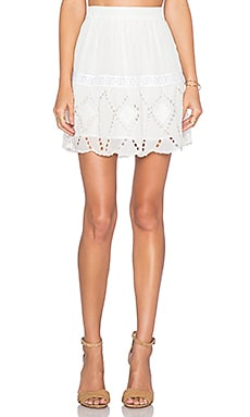 Tularosa Glenn Skirt in Ivory