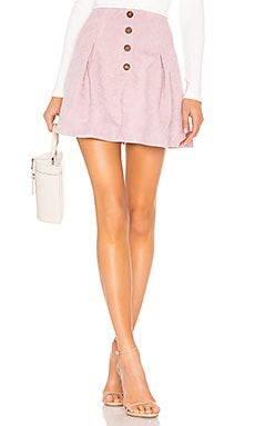 Kendall Button Front Skirt Tularosa $87