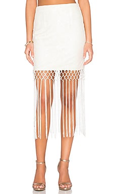 Tularosa x REVOLVE The Barcelona Skirt in White