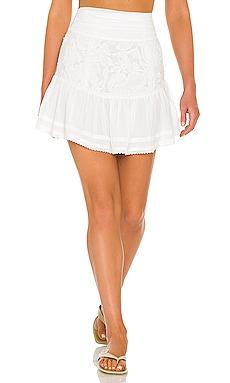 Cierra Embroidered Skirt Tularosa $40 (FINAL SALE)