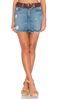 Aubrey 5 Pocket Mini Skirt