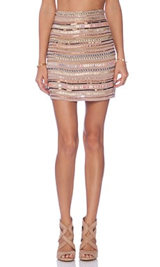 x REVOLVE Crystal Skirt
