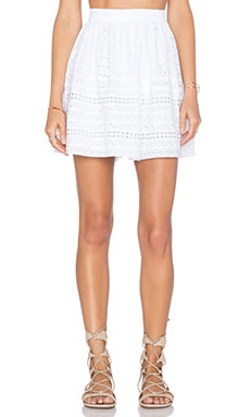 Tularosa Payton Skirt in White