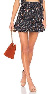 Maida Ruffle Skirt Tularosa $138 BEST SELLER