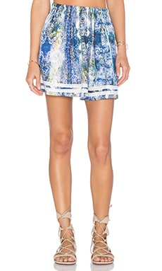 Tularosa Carter Skirt in Blue Multi