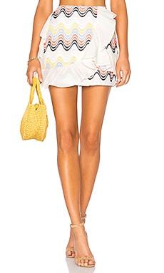 Купить Мини-юбка с рюшами hannah - Tularosa, Китай, Ivory