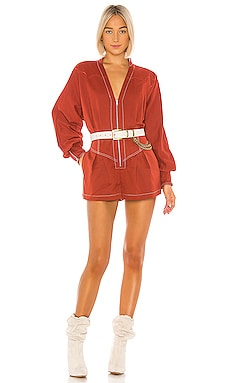 The Jhene Romper Tularosa $248
