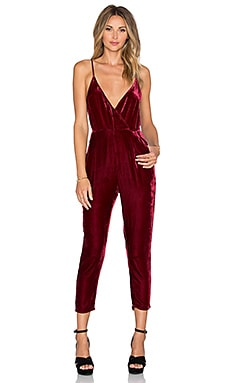 Tularosa Elizabeth Jumpsuit in Wine