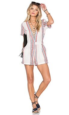 Balboa Playsuit in Beatnik Stripe