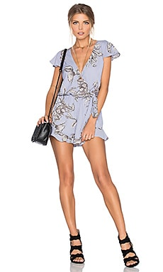 Tularosa Ashby Romper in Chambray
