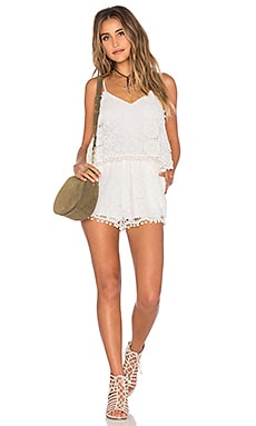 Tularosa Tenney Romper in Chalk