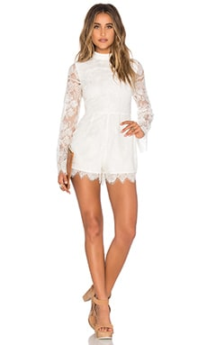 Louis Romper in Ivory