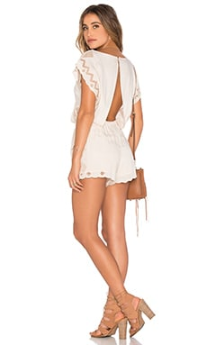Mae Romper in Natural