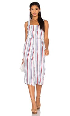 Tularosa Moore Jumper in Blue & Red Stripe