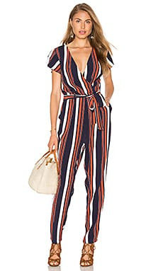 Montana Jumpsuit in 70's Stripe