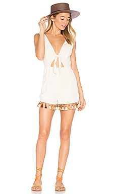 x REVOLVE Ringle Romper in Creme