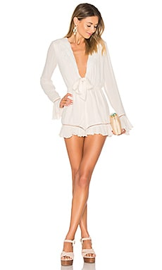 Barlow Romper in Shell