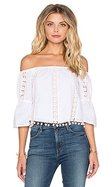 Tularosa Alexa Top in White