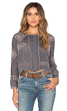 Tularosa x REVOLVE Daphne Top in Charcoal