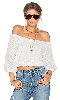 Tularosa Hadley Top in Cream