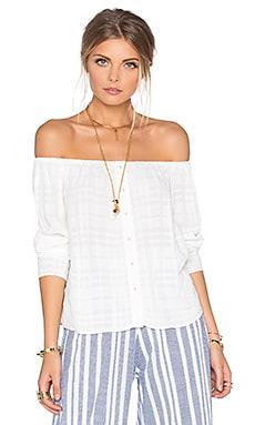 Tularosa x REVOLVE Liza Blouse in White