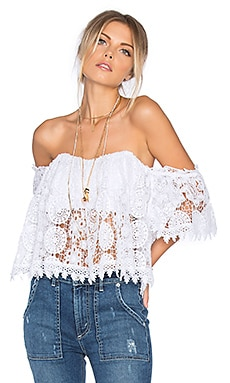 x REVOLVE Amelia Top in White