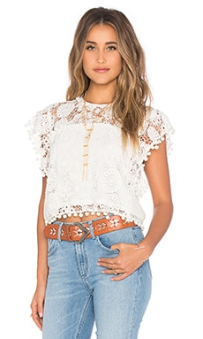 Tularosa Kennedy Top in Chalk