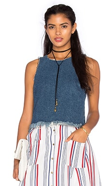 Scarlett Denim Tank