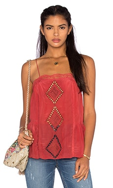 Tularosa Marni Tank in Rusted Cherry