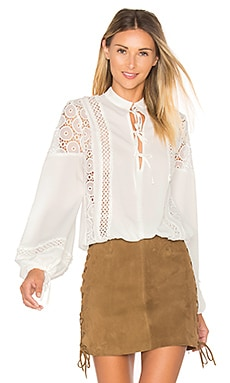Farrah Blouse in Ivory