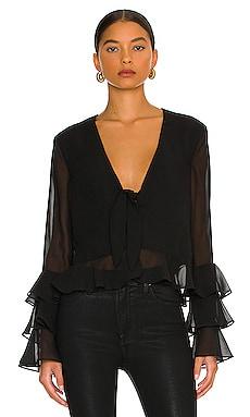 Winnie Blouse in Black