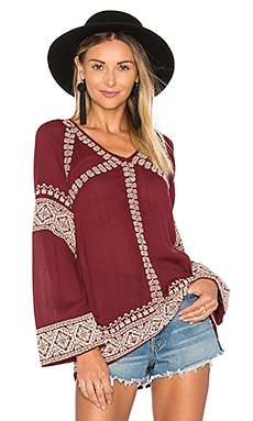 Therone Tunic in Mulled Wine