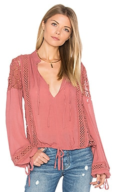 Farrah Blouse in Rose