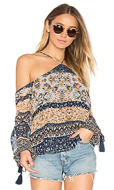 x REVOLVE Syrah Top in Multi Floral Stripe