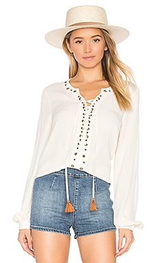 x REVOLVE Rosario Top in Creme