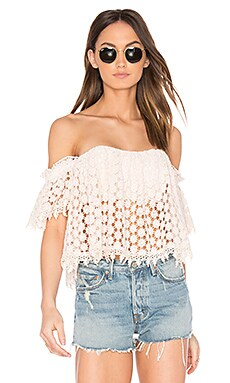 x REVOLVE Amelia Crop Top in Blush