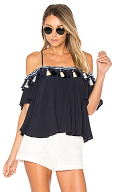Maley Top in Navy