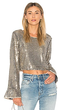 Lu Sequin Top