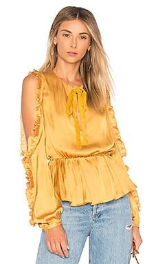 Блузка с вырезами на плечах shilo - Tularosa