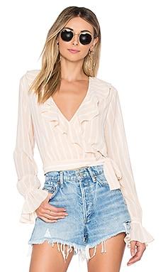 Holly Wrap Top Tularosa $77