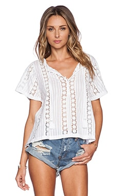 Tularosa Finn Top in White