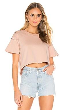 Alana Short Sleeve Sweatshirt Tularosa $37 (FINAL SALE)