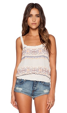 Tularosa Canyon Top in Ivory