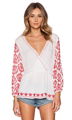 Tularosa Ruby Blouse in White